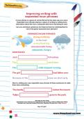 Improving writing with expanded noun phrases worksheet