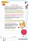 Inference skills worksheet
