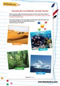 Introduction to habitats: animal homes activity