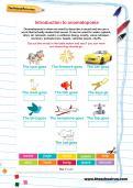 Introduction to onomatopoeia worksheet