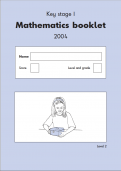 Key Stage 1 - 2004 Maths SATs Papers