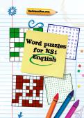 Word puzzles for Key Stage 1 English learning pack