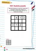 KS1 Sudoku puzzle