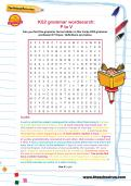 KS2 grammar wordsearch