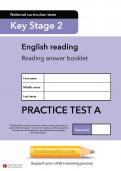 TheSchoolRun KS2 SATs English practice test A