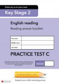 TheSchoolRun KS2 SATs English practice test C
