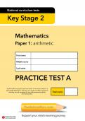 TheSchoolRun KS2 SATs maths practice test A