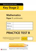 TheSchoolRun KS2 SATs maths practice test B