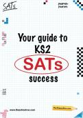 Your guide to KS2 SATs success pack
