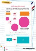 Looking at scale factors worksheet