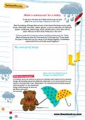 Make a waterproof for a teddy