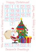 Make your own picture Advent calendar