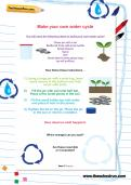 Make your own water cycle activity