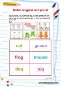 Match singular and plural activity