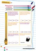 Measurement problems worksheet