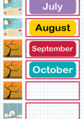 Ordering months of the year tutorial