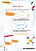 Moving fish race