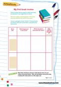 My first book review worksheet