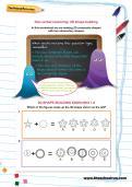 Non-verbal reasoning worksheet: 2D shape-building