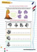 Non-verbal reasoning worksheet: 3D rotation revision