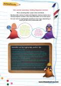 Non-verbal reasoning worksheet: Coding diagrams revision