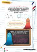Non-verbal reasoning worksheet: Finding patterns