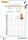 Non-verbal reasoning worksheet: Reflection