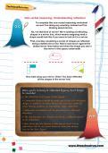Non-verbal reasoning worksheet: Understanding reflection