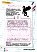 Paragraphs explained worksheet