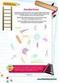 Parallel lines worksheet