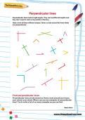 Perpendicular lines worksheet