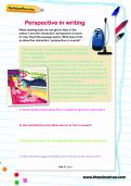 Perspective in writing worksheet