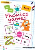 Phonics games learning pack cover