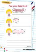 Plan a non-fiction book worksheet