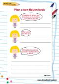 Plan a non-fiction book worksheet