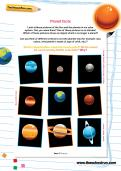 Planet facts worksheet