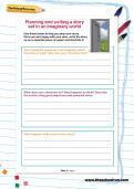 world building worksheet