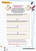 Planning your own dilemma story worksheet