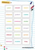 Playing with verbs activity