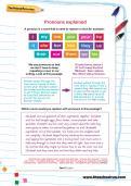 Pronouns explained worksheet