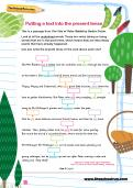 Putting a text into the present tense worksheet