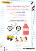 """Reading and spelling the """"soft c"""" sound worksheet"""