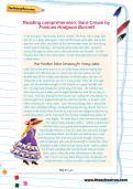 Reading comprehension: Sara Crewe by Frances Hodgson Burnett