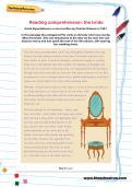 Reading comprehension: the bride