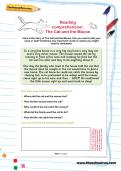 Reading comprehension: The Cat and the Mouse