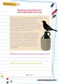 Reading comprehension: THE CROW AND THE JUG