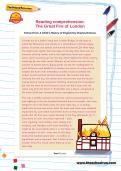 Reading comprehension: The Great Fire of London