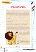 Reading comprehension: THE LION AND THE MOUSE