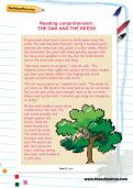 Reading comprehension: THE OAK AND THE REEDS
