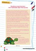 Reading comprehension: THE TORTOISE AND THE DUCKS
